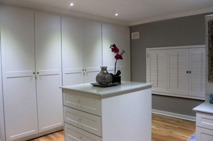 Margaret Berichon Design Classic style dressing room MDF White
