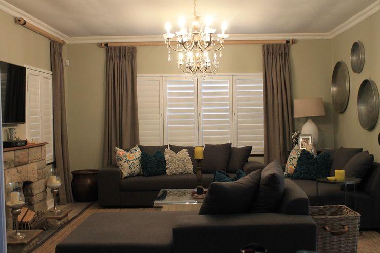 Margaret Berichon Design Klasik Oturma Odası Ahşap Gri