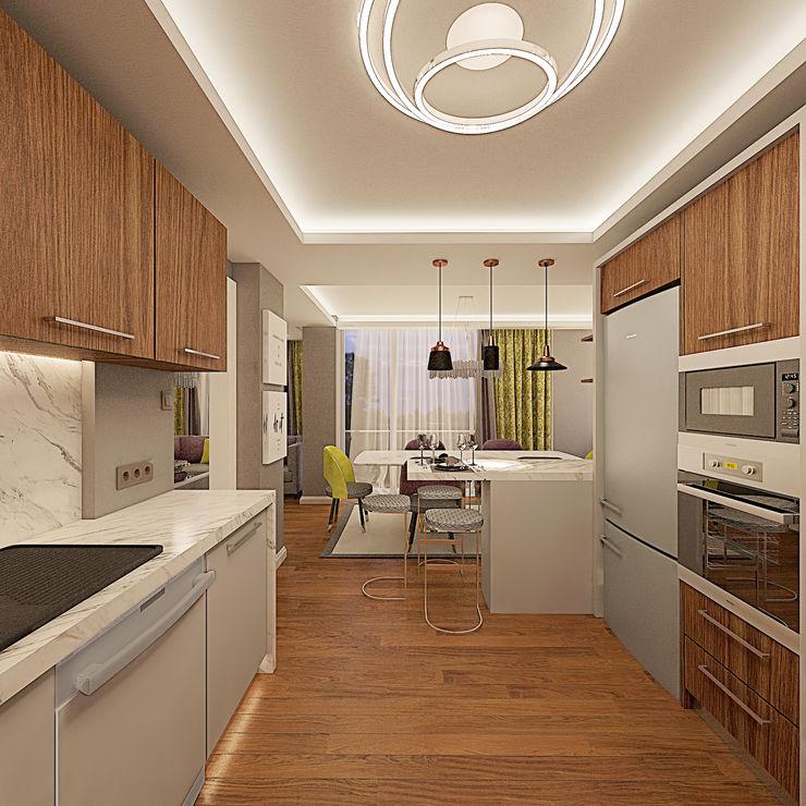 Ofis 352 Mimarlık Hizmetleri Cocinas modernas