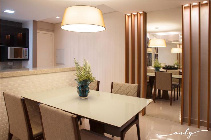 Only Design de Interiores Comedores de estilo moderno