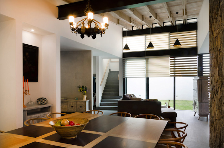 VMArquitectura Modern dining room Concrete