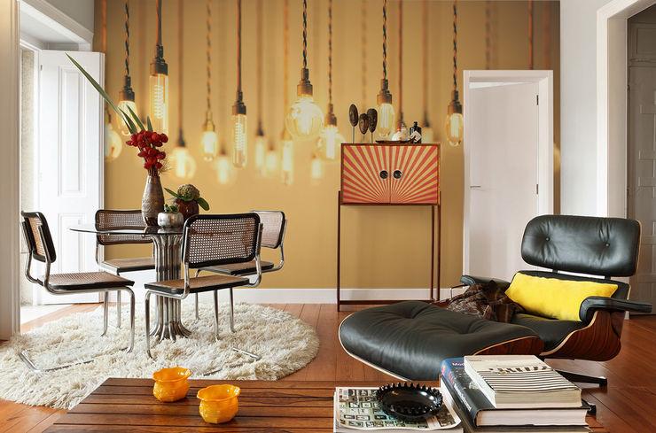 Retro Pixers Salones de estilo moderno Multicolor