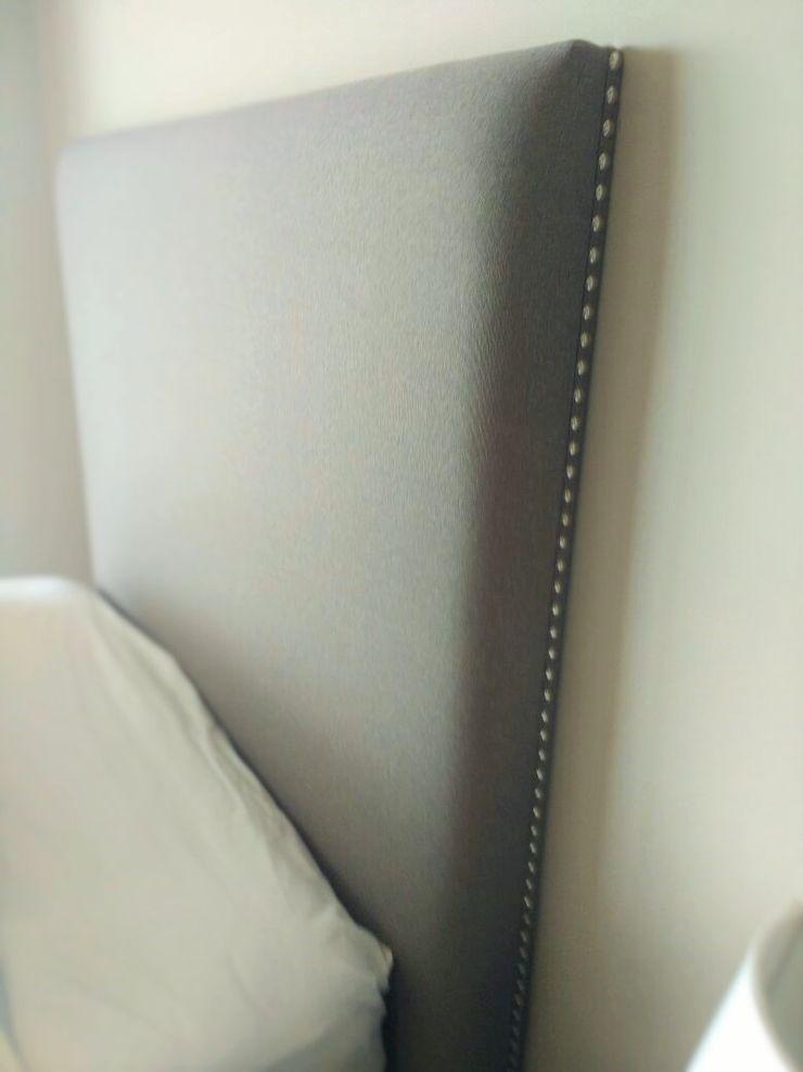 Estilo en muebles СпальняЛіжка та спинки Синтетичні Сірий