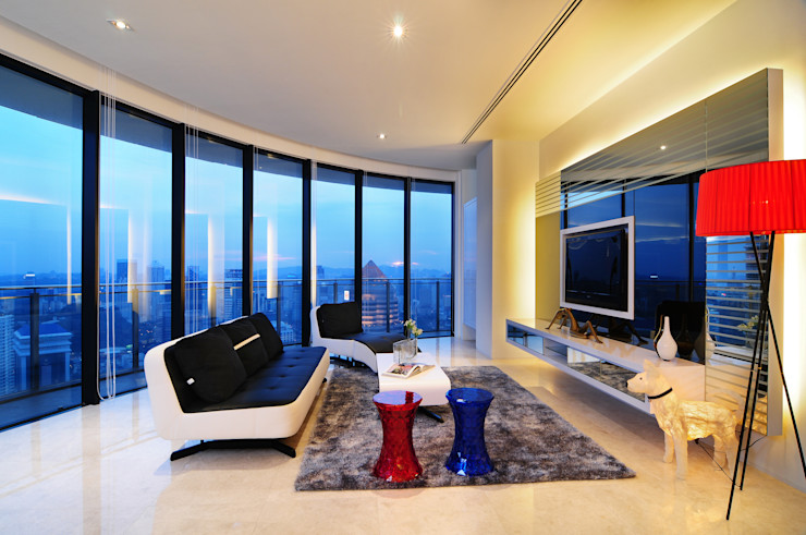 Design Spirits Eclectic style living room