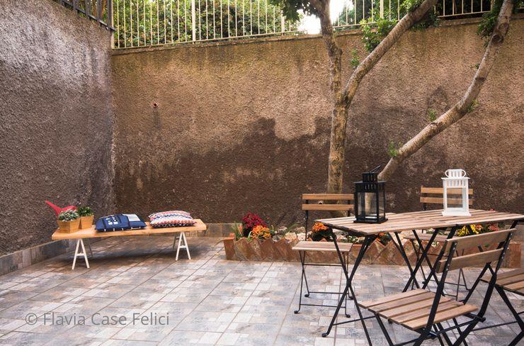 Flavia Case Felici Jardines de estilo moderno