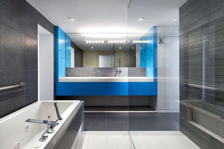 KUBE architecture Ванна кімната