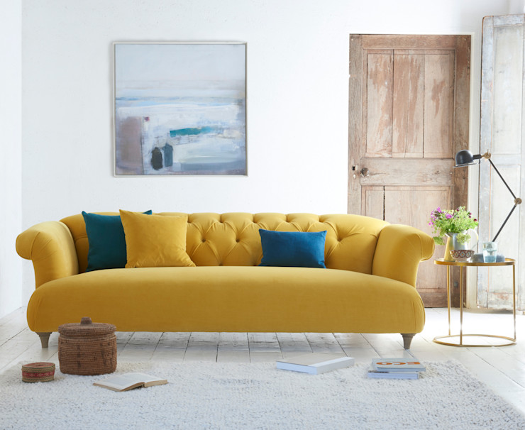 Dixie sofa Loaf Living roomSofas & armchairs Textile Yellow