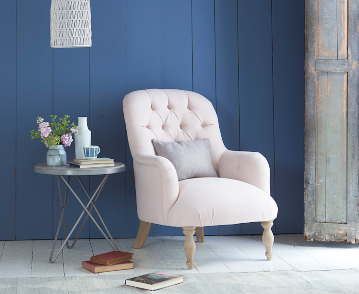 Flump chair Loaf Living roomSofas & armchairs Cotton Pink