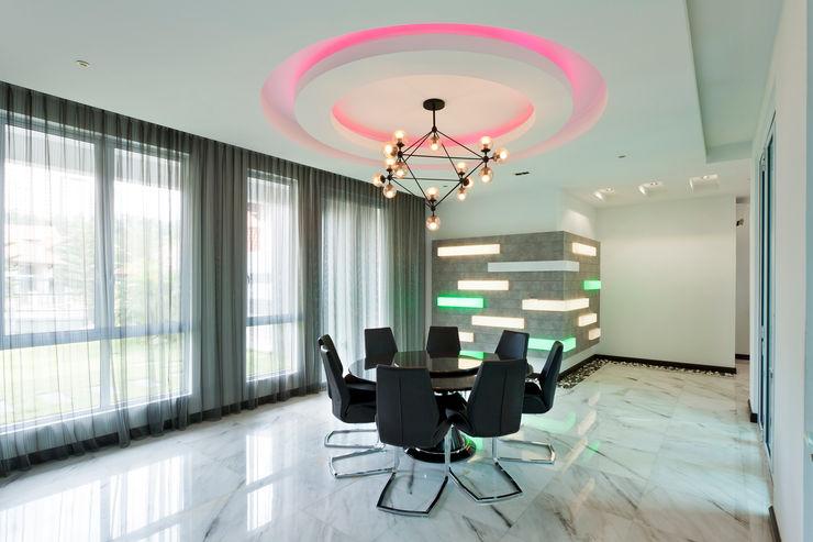 Contemporarily Dashing   BUNGALOW Design Spirits Modern dining room