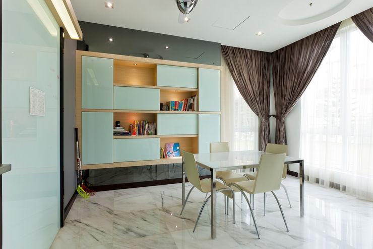 Contemporarily Dashing   BUNGALOW Design Spirits Modern style study/office