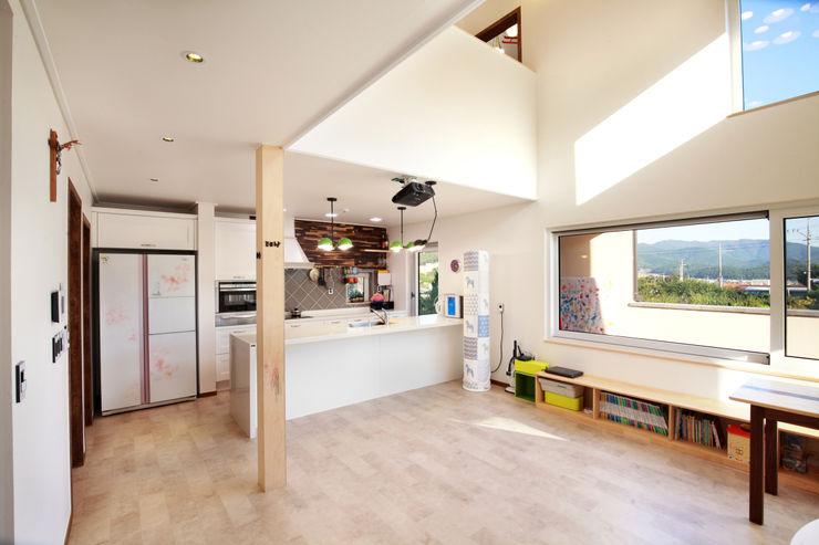 주택설계전문 디자인그룹 홈스타일토토 現代廚房設計點子、靈感&圖片