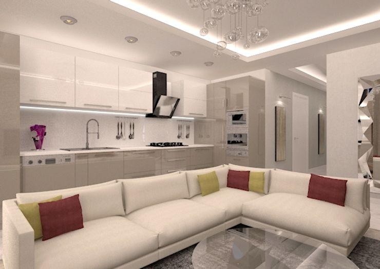 vanetta küchen Dapur Modern