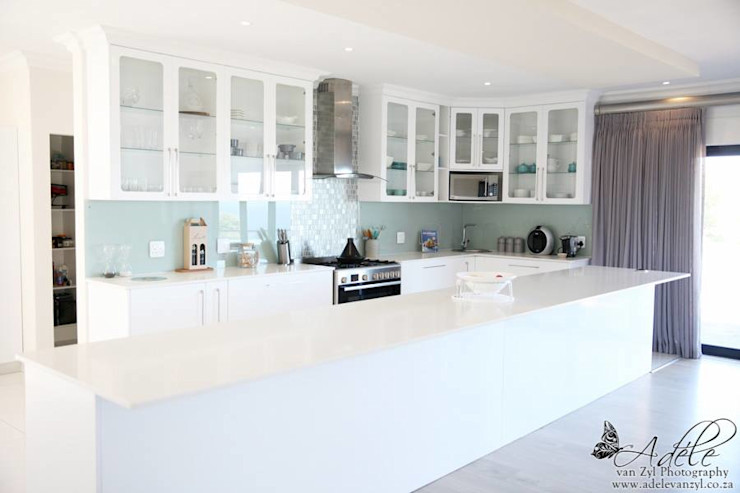 Rudman Visagie 現代廚房設計點子、靈感&圖片