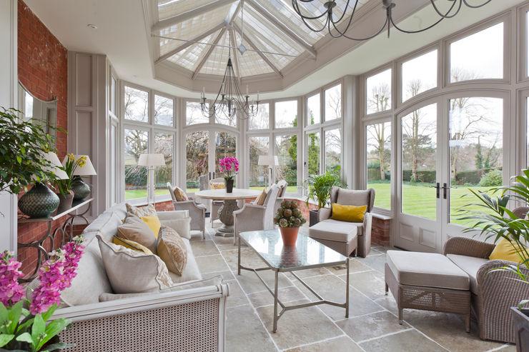 Victorian Style Orangery Vale Garden Houses Зимний сад в классическом стиле Дерево Бежевый