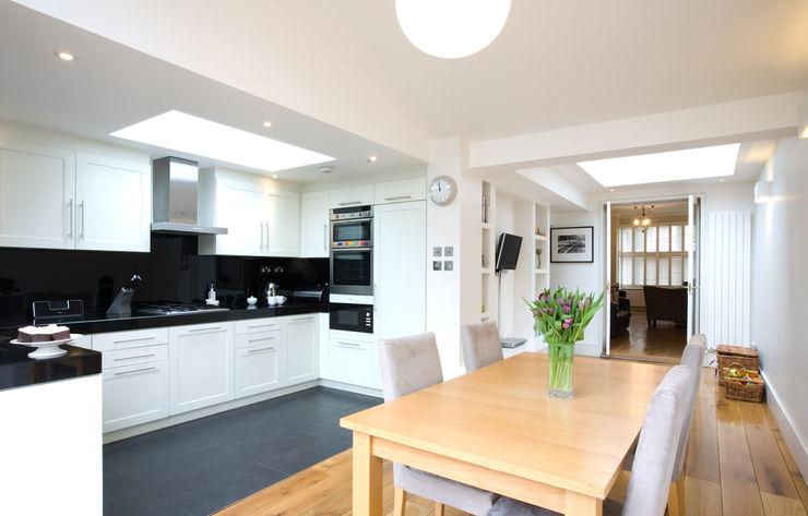 Cozinha aberta para sala Architect Your Home Cozinhas modernas