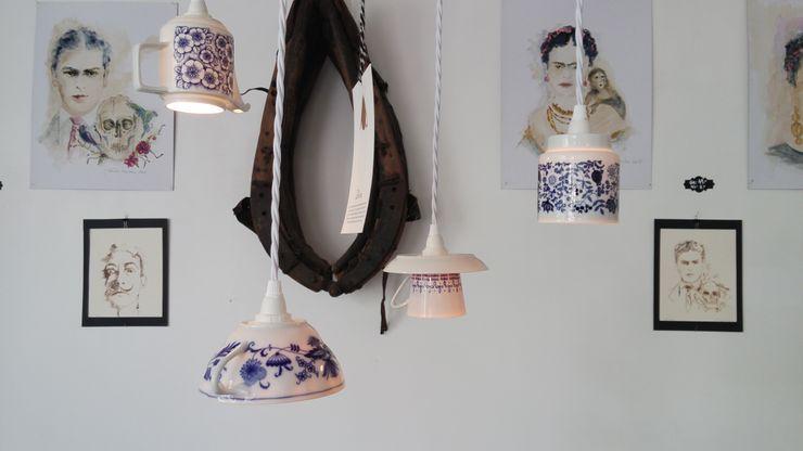 Lieselotte Scandinavian style kitchen Ceramic Blue