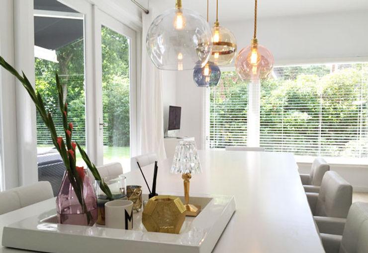 Villa Bergen By Lenny Moderne eetkamers