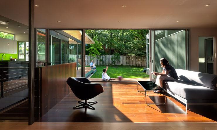 Casa Abierta KUBE architecture Modern Living Room