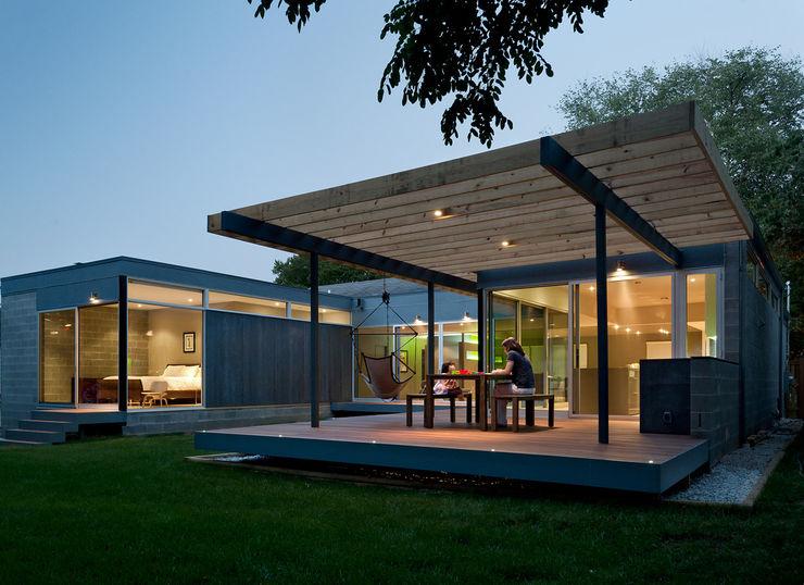 Casa Abierta KUBE architecture Modern Houses