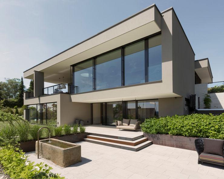 meier architekten zürich Casas estilo moderno: ideas, arquitectura e imágenes Beige