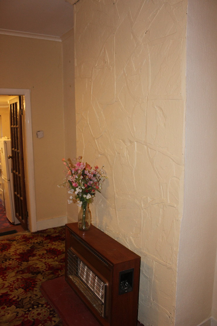 Lounge Before - Gas Fireplace Millennium Interior Designers