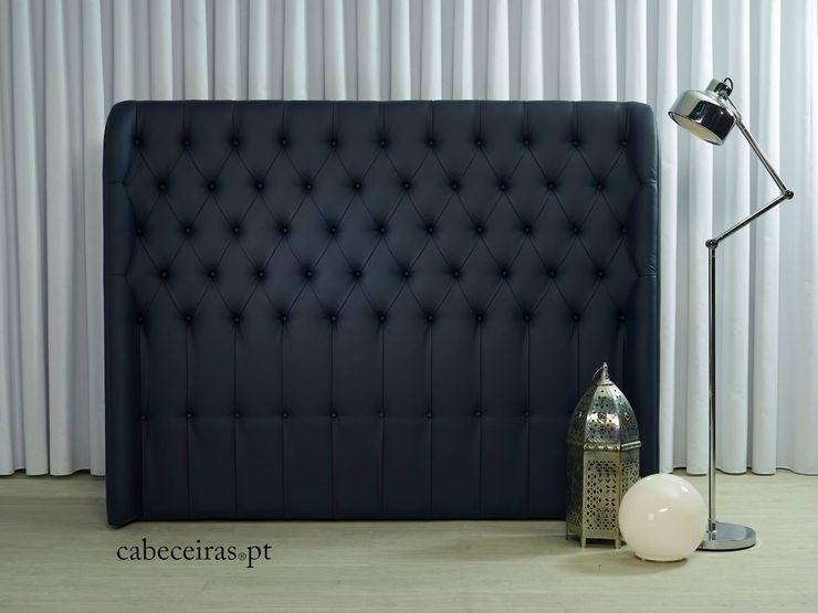 Cabeceiras.pt Camera da lettoLetti e testate Sintetico Blu