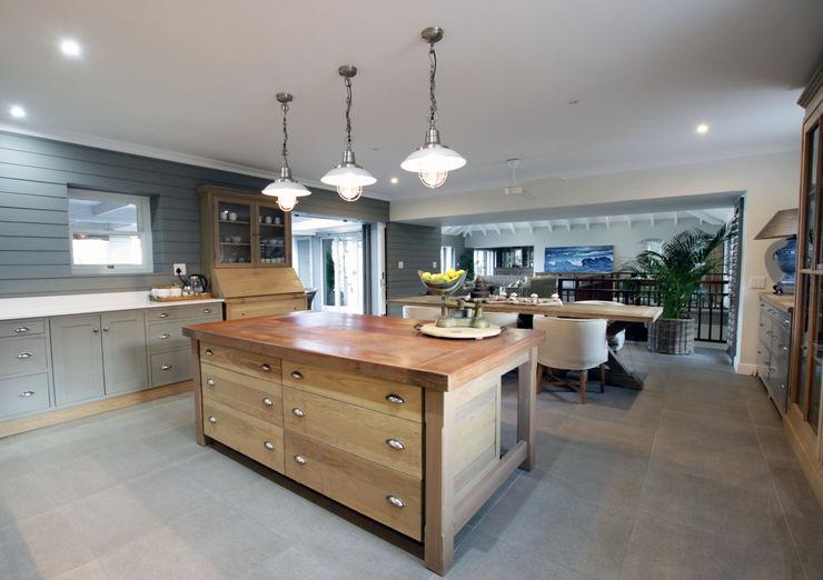 Kitchen JSD Interiors Built-in kitchens Grey