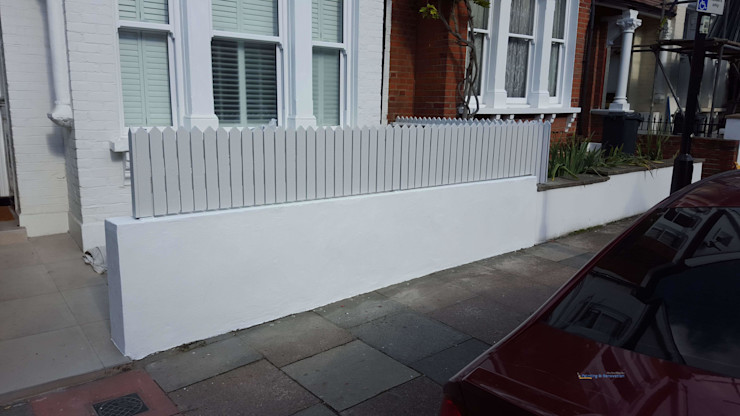 Exterior Painting in Kensington PerfectWorks Painting & Renovation Classic style houses White