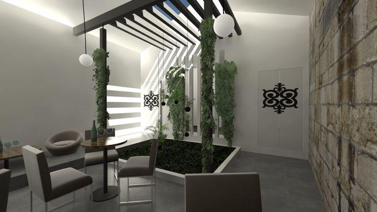 A3 Ateliê Academia de Arquitectura Modern conservatory Wood