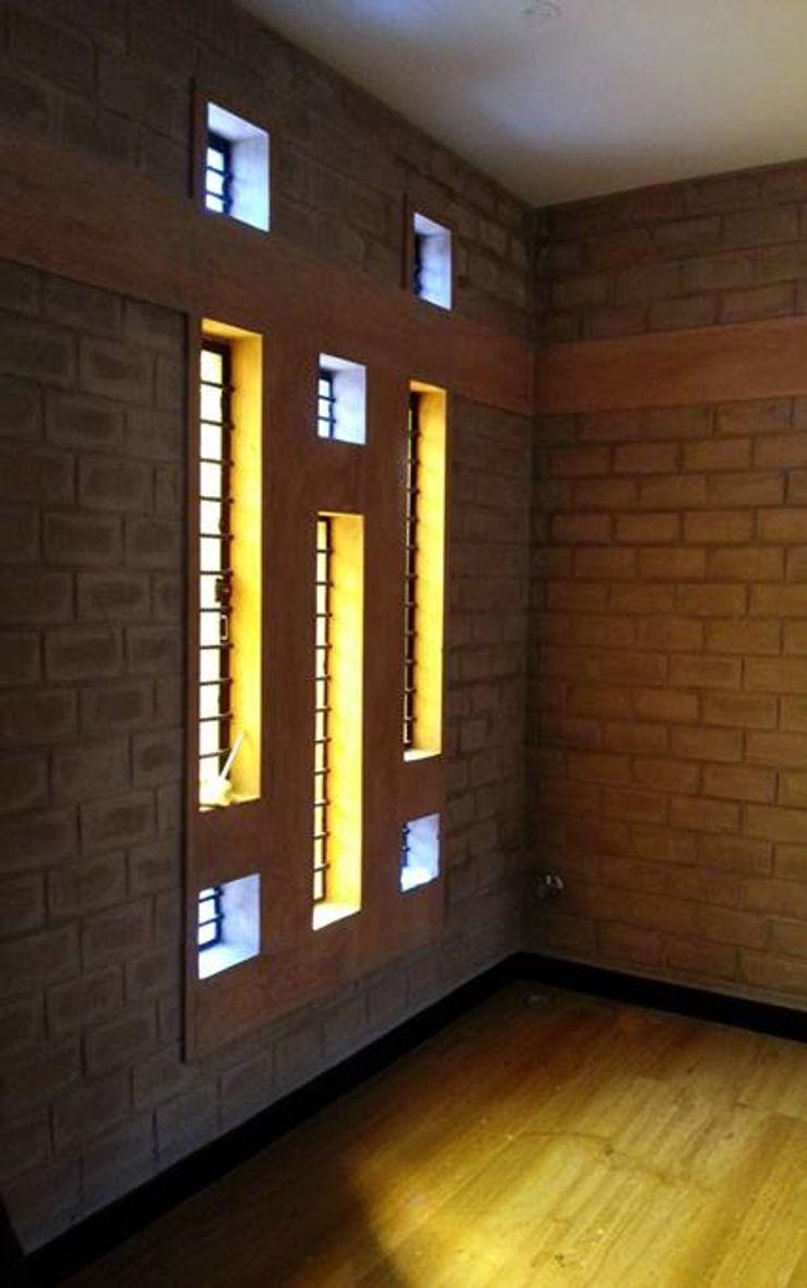 A3 Ateliê Academia de Arquitectura Asian style dining room