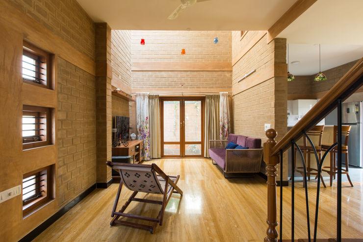 A3 Ateliê Academia de Arquitectura Salones de estilo asiático