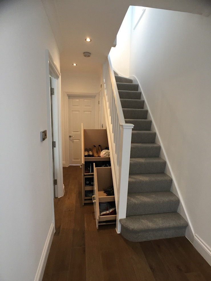 Hallway Progressive Design London Modern corridor, hallway & stairs