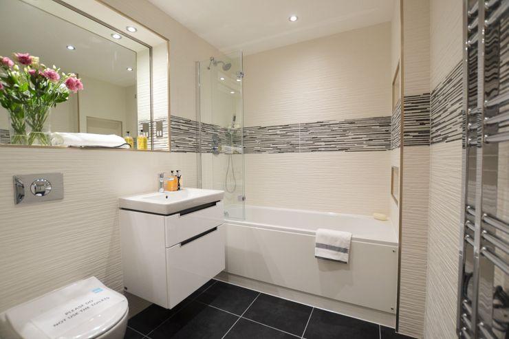 2 Bedroom Apartment THE FRESH INTERIOR COMPANY Casas de banho minimalistas