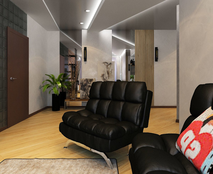 ДизайнМастер Industrial style living room