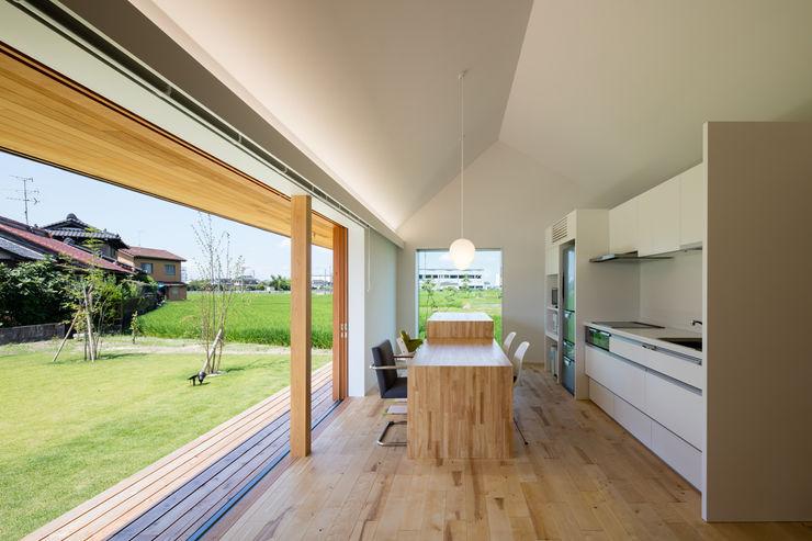 ダイニングスペース/夏 hm+architects 一級建築士事務所 オリジナルな 家