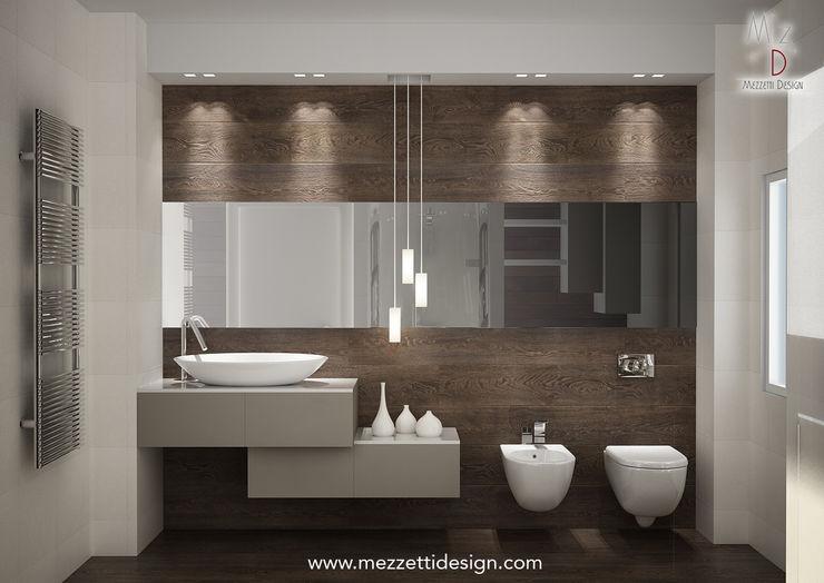 Mezzettidesign Salle de bain minimaliste Céramique Beige