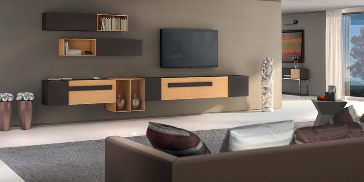 Intense mobiliário e interiores Living roomTV stands & cabinets