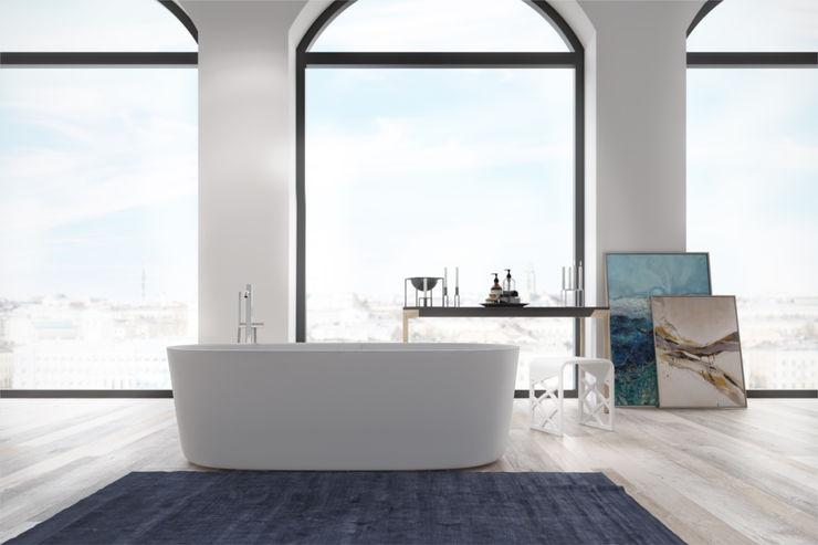 Hornbæk 168 bathtub Copenhagen Bath BadkamerBadkuipen & douches Wit