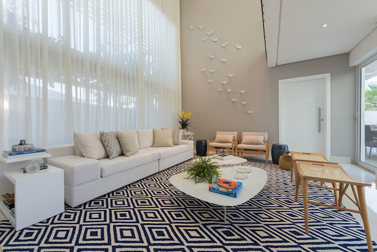 Renata Matos Arquitetura & Business 客廳配件與裝飾品 MDF Multicolored