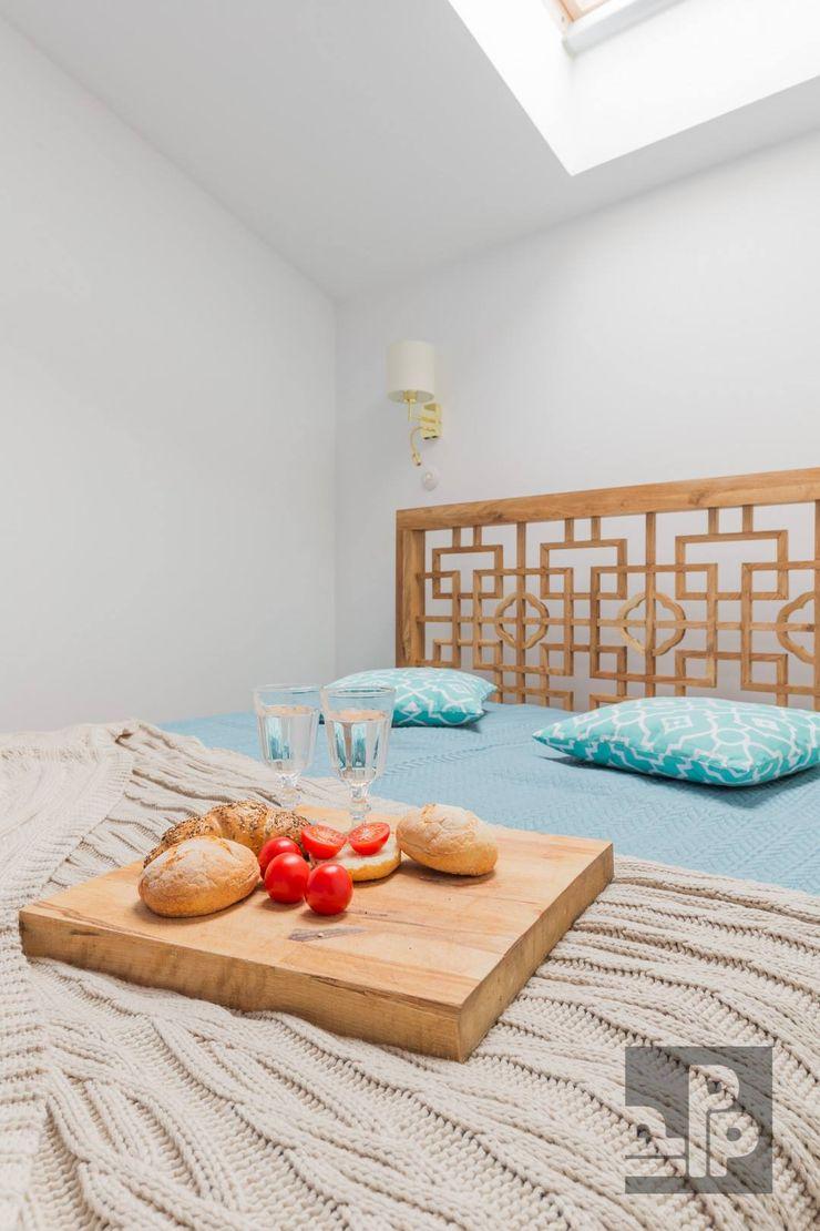 Pogotowie Projektowe Aleksandra Michalak Eclectische slaapkamers