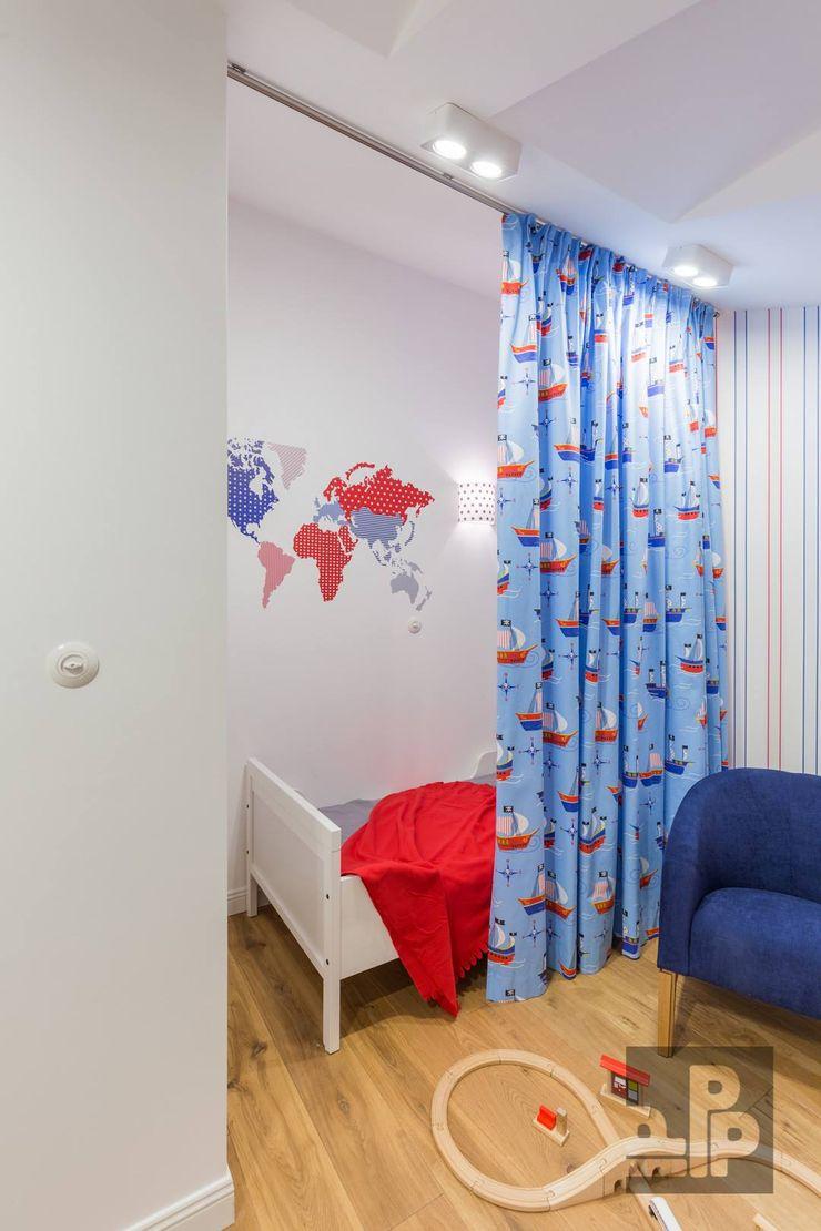 Pogotowie Projektowe Aleksandra Michalak Eclectische kinderkamers