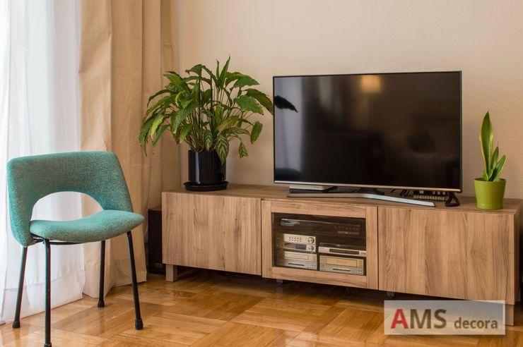 AMS decora 거실TV 스탠드 & 캐비닛