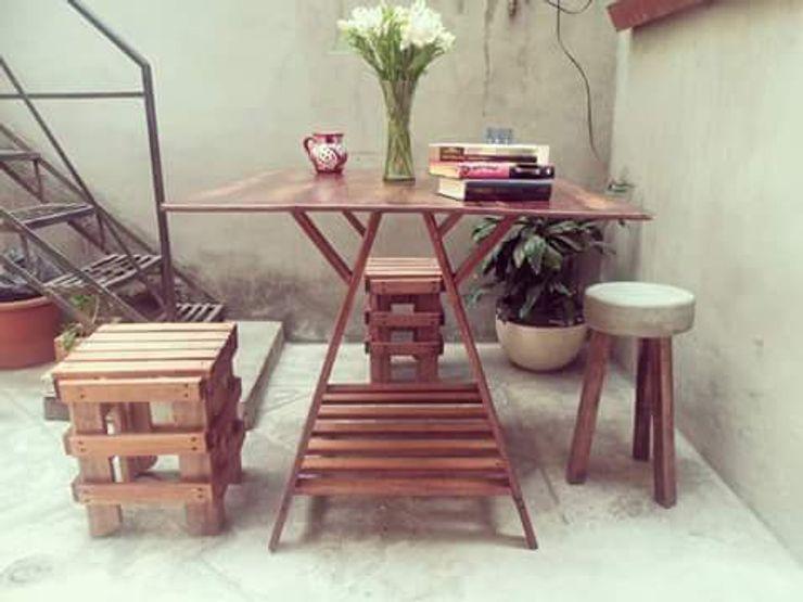 Departamento Seis ห้องทานข้าวโต๊ะ ไม้ Wood effect