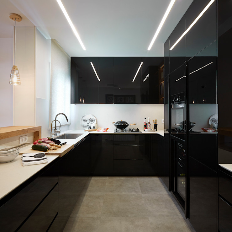 Molins Design Modern style kitchen