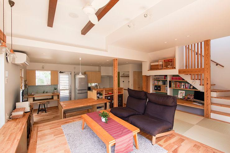 祐建築設計事務所 Modern living room