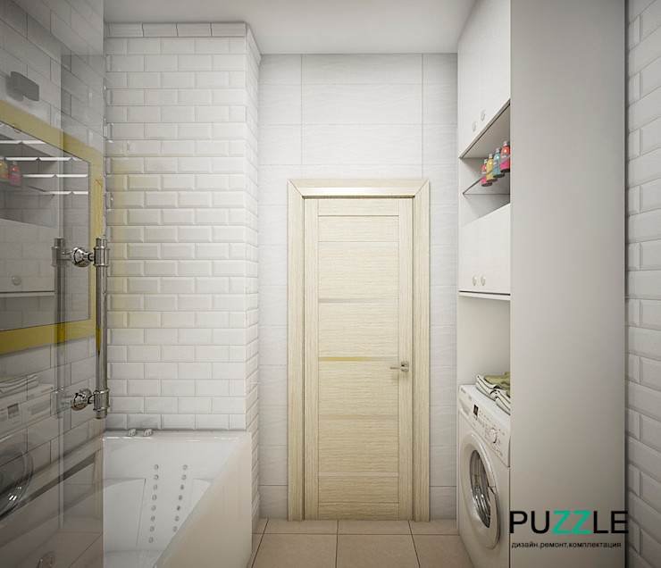 PUZZLE Modern style bathrooms