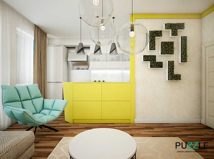 PUZZLE Living room