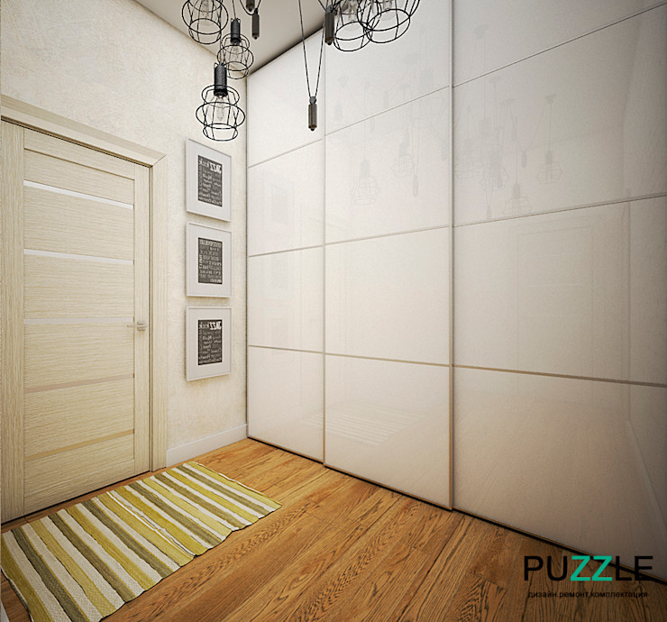 PUZZLE Modern corridor, hallway & stairs