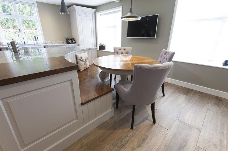 Pentlow Grand - Bespoke kitchen project in Suffolk Baker & Baker Kitchen Solid Wood White