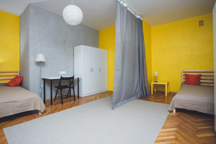 Kraupe Studio Dormitorios de estilo industrial